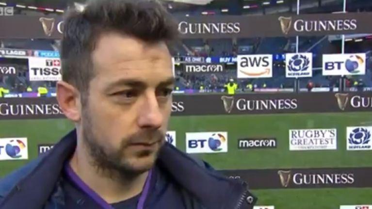 Greig Laidlaw claims referee Romain Poite 'doesn't like Scotland'