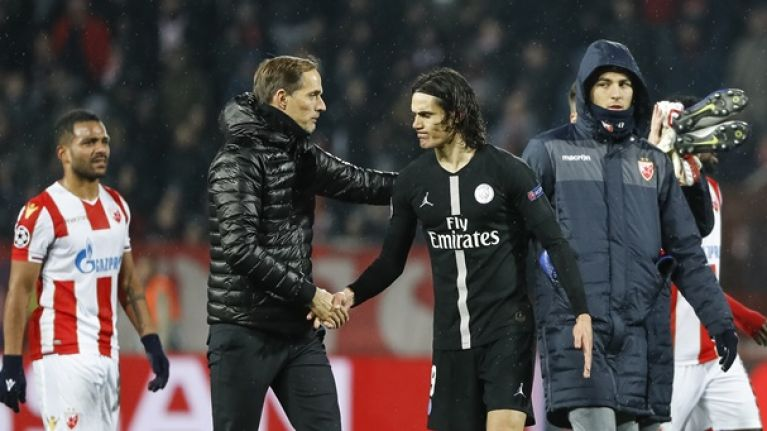 Edinson Cavani to miss Man United Champions League game