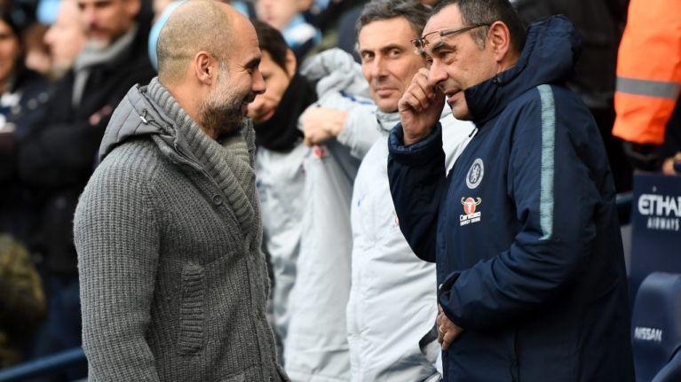 Maurizio Sarri refused to shake Pep's hand after 6-0 beatdown