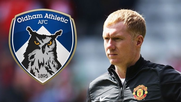 Paul Scholes set to be announced as manager of Oldham Athletic