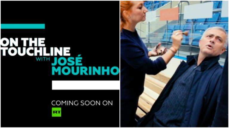 Jose Mourinho announces new fortnightly television show