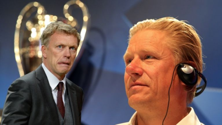 Peter Schmeichel trolled for David Moyes claim