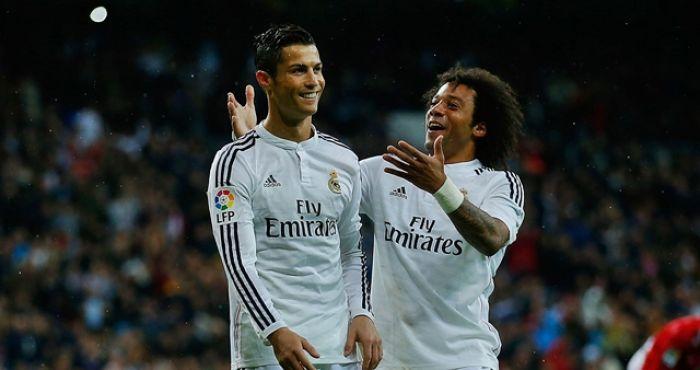 Best Friends; Ronaldo and Marcelo