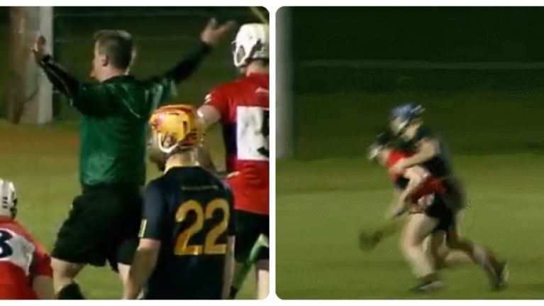 Whole of DCU crying foul after seemingly harsh penalty call knocks them out