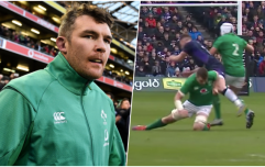 Scots fume as Peter O'Mahony collision rules Stuart Hogg out of Six Nations