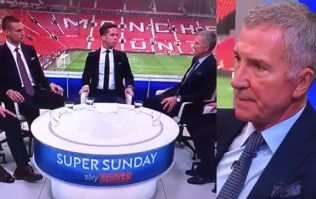 """Graeme Souness not impressed with """"look"""" by Sky Sports presenter after Man United draw with Liverpool"""