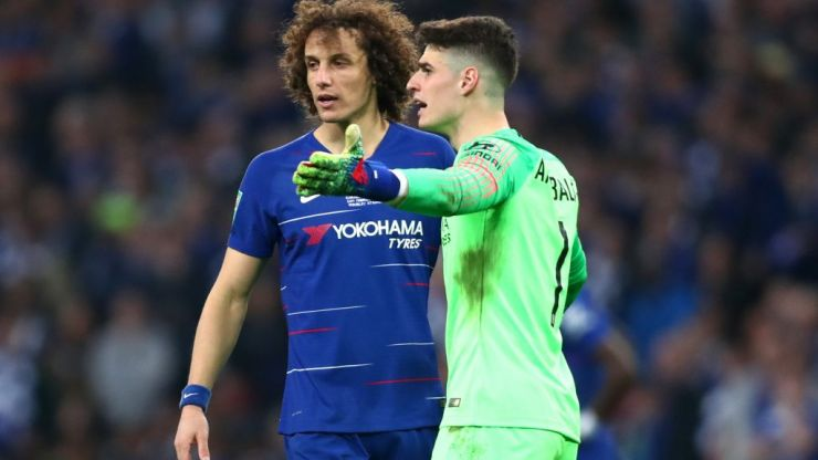 David Luiz reveals what he said to Kepa Arrizabalaga during Carabao Cup final