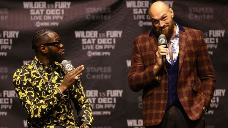 Tyson Fury is not going to fight Deontay Wilder next