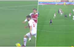 "Cesc Fabregas ""invents"" new way to pass a football"