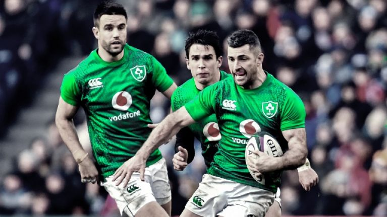 The starting team Ireland should select to play France