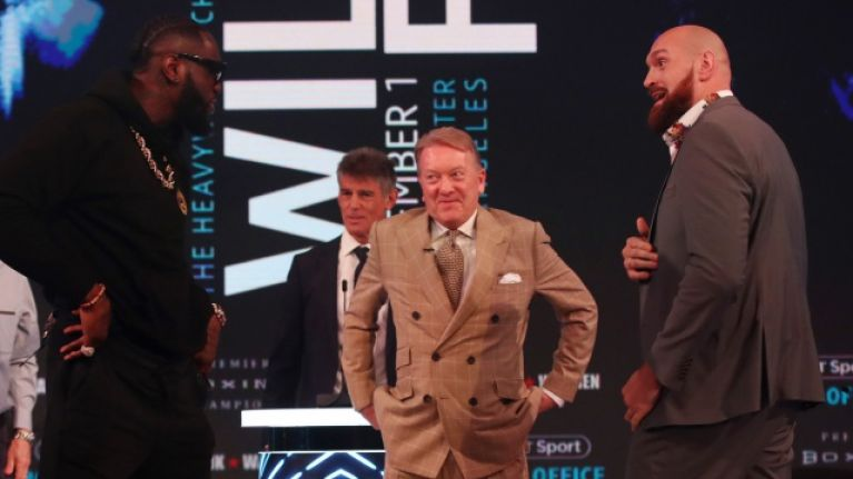 Frank Warren explains what happened with Tyson Fury's rematch against Deontay Wilder
