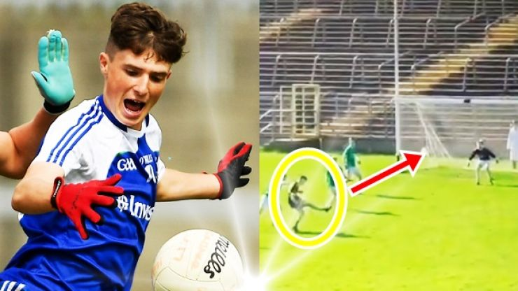 Young Monaghan hotshot definitely meant it