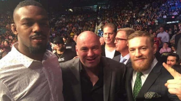 Conor McGregor taught Jon Jones a lesson