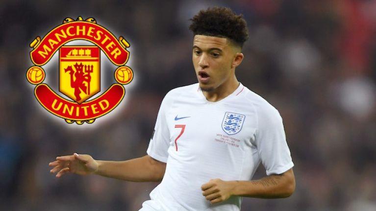 Manchester United stepping up pursuit of Jadon Sancho