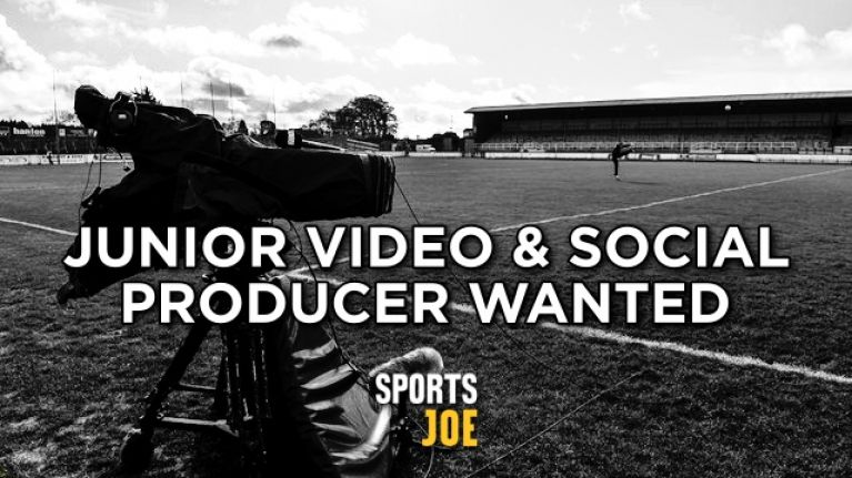 We are hiring! SportsJOE is looking for a Junior Video and Social Producer