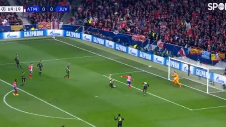 Alvaro Morata has goal taken away from him after VAR review