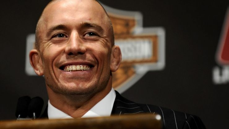 UFC legend Georges St-Pierre has retired again