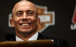 UFC legend Georges St-Pierre has retired again