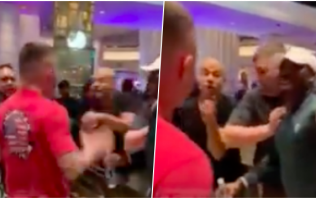 Kamaru Usman and Colby Covington involved in casino altercation after UFC 235