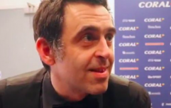 Ronnie O'Sullivan gives one of the more unusual interviews after Players Championship win
