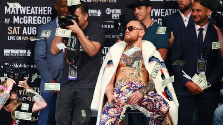 "Conor McGregor confirms that MMA is now his ""third level of income"""