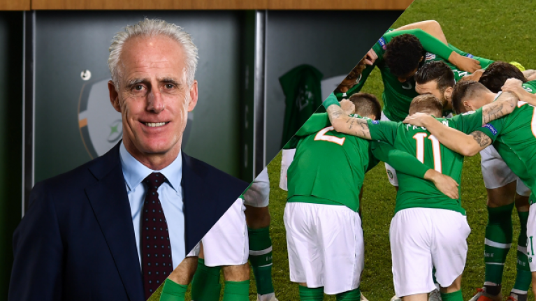 Mick McCarthy names Republic of Ireland squad for Euro 2020 qualifiers