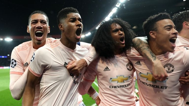 Player ratings as Man United stun PSG and knock them out of the Champions League