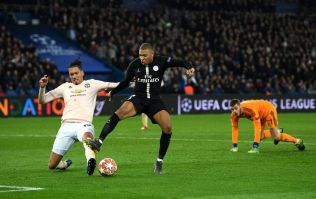 Chris Smalling's last-ditch tackle to deny Mbappe summed up Man United's night against PSG