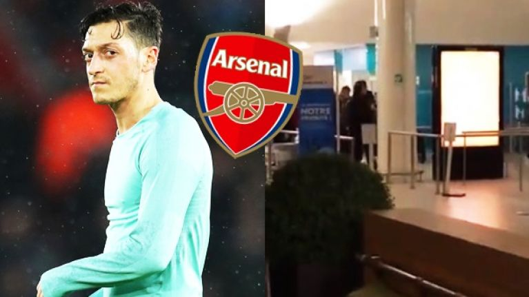 Arsenal players greeted with boos at airport following 3-1 defeat to Rennes