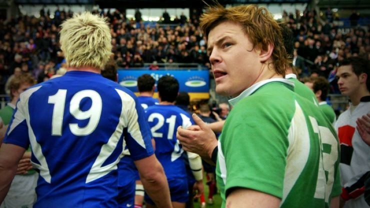 The crazy Ireland game against France that saw Tommy Bowe get 0/10