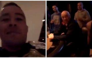 Colby Covington confronts Dana White in casino over title shot snub