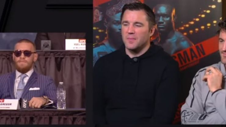 Chael Sonnen and Ben Askren react to Conor McGregor's infamous 'who is that guy' line