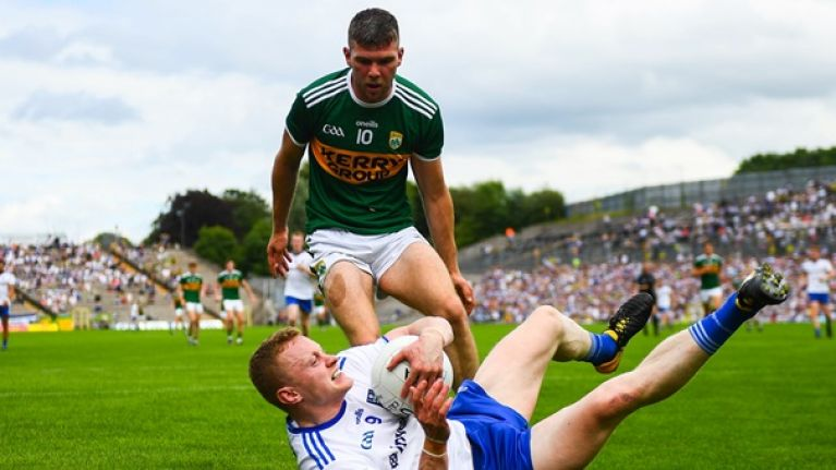 Kerry make two changes for visit of Monaghan