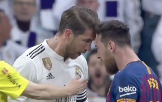 Sergio Ramos insists he didn't mean to catch Lionel Messi in the face