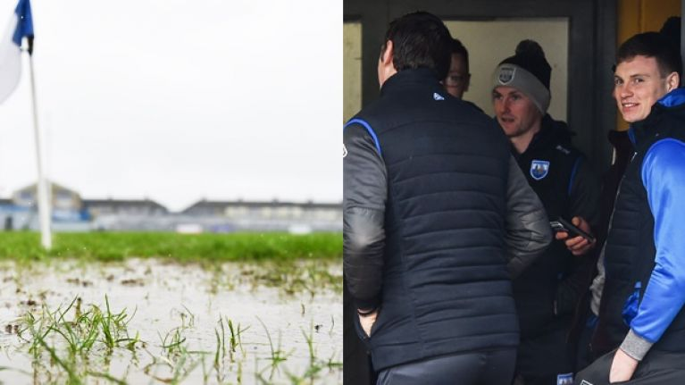 Three League games off as morning of rain soaks pitches