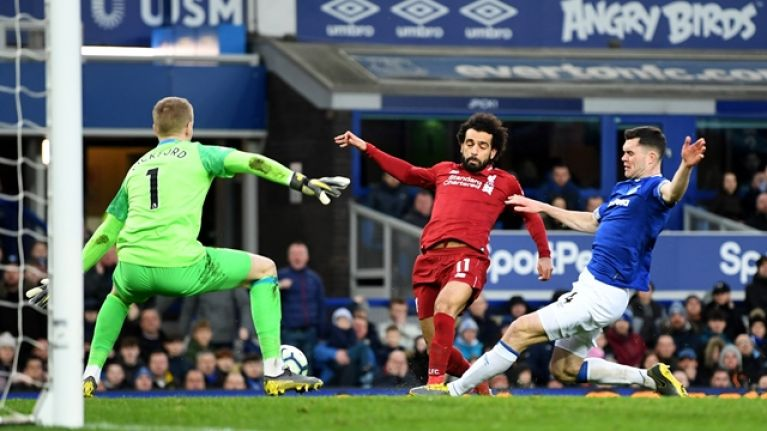 Liverpool miss chance to go back top of the Premier League after disappointing draw with Everton at Goodison Park