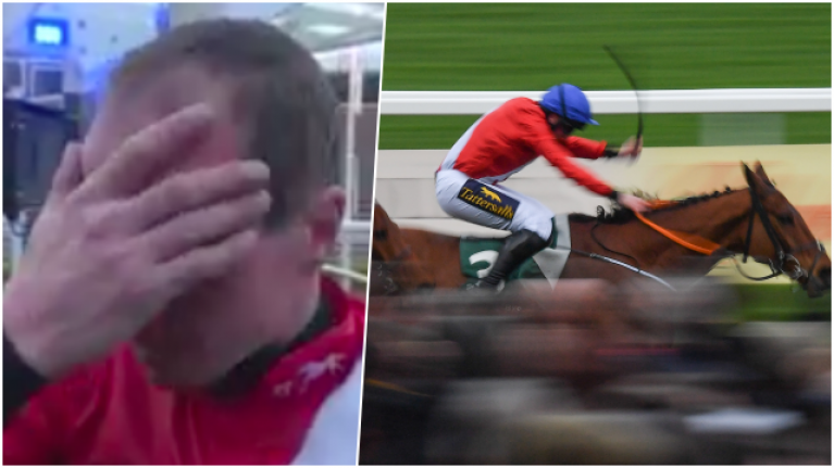 Wexford jockey Jamie Codd pays emotional tribute to his brother after winning Champion Bumper