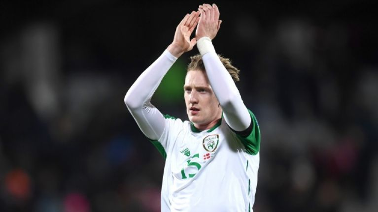 Freak finger injury could rule Ronan Curtis out of upcoming Euro qualifiers