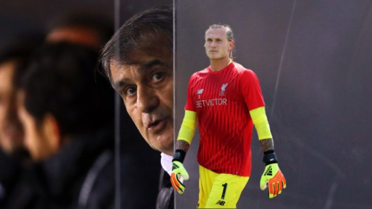 Liverpool offer backing to Loris Karius following goalkeeper's complaint to Fifa