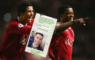 Patrice Evra shares pre-match WhatsApp messages from Cristiano Ronaldo