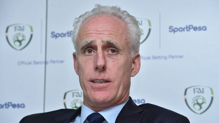 Mick McCarthy cuts down Republic of Ireland squad for Euro 2020 qualifiers