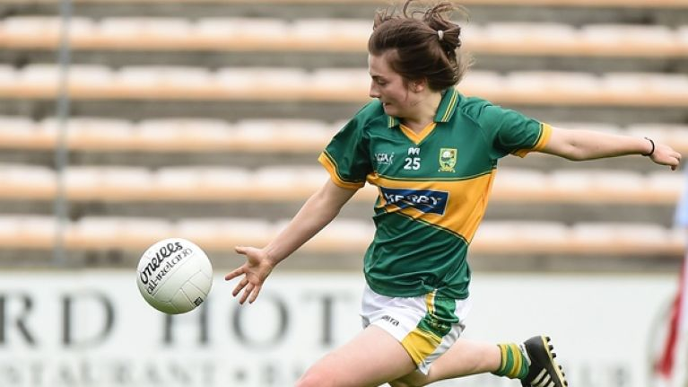 The 18-year-old former Ireland international who's lording it for Kerry