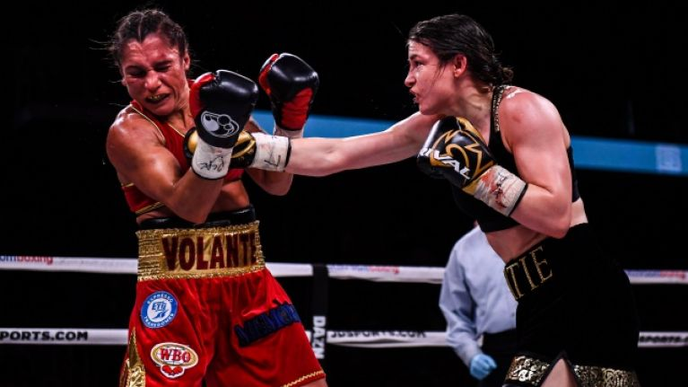 Katie Taylor batters Rose Volante to add WBO title to her collection