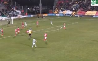 Jack Byrne bends one into the top corner as Rovers thump Sligo