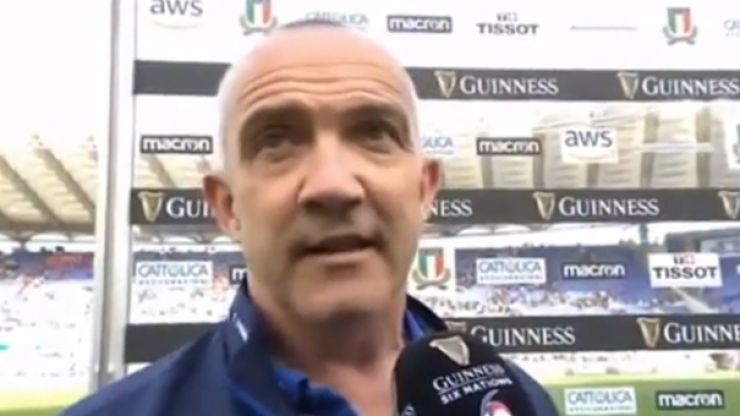 Defiant Conor O'Shea doesn't care what people say about Italy