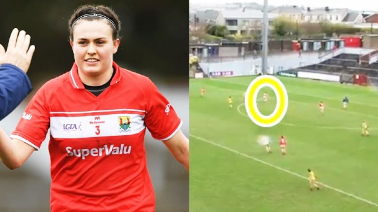 Cork ladies master the fist pass with 10 beauties before stunning goal