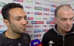 It got painfully awkward between Bielsa, his translator and the Sky Sports interviewer