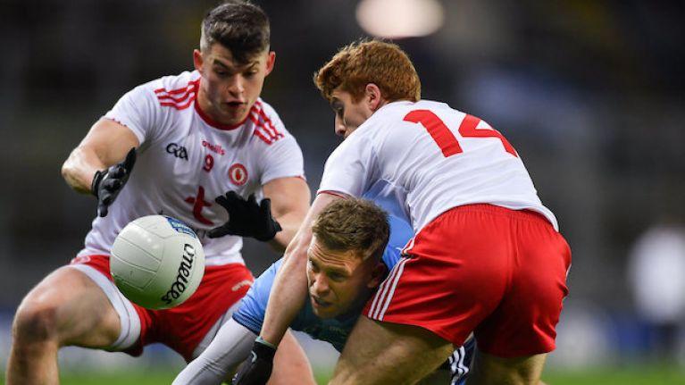 Tyrone have beaten Dublin in Croke Park with 14 men
