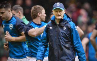 Joe Schmidt unhappy with media announcing Ireland team last Wednesday