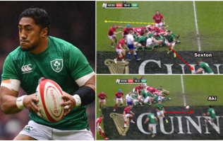 The Bundee Aki move that summed up Ireland's day in Cardiff